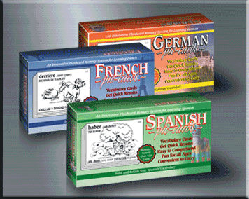 Spanish, French, & German Flashcards